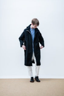 Coat : [ A6_F131C ] FFCT 44,500+tax br; Shirt : [ A6_F013S ] FSSH_M 21,000+tax br; Pants : [A6_F023P ] FTPT 23,000+tax br; Shoes : [S6_F116R] REGALIA DUDA_M 98,000+tax br;