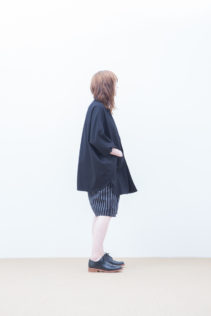 Poncho : [ S7_F042J ] FNJK 34,000+tax br; Short Pants : [ S7_F014P ] FNSSL 22,000+tax br; Shoes : [ S6_F111R ] REGALIA DUDA-L 98,000+tax br;
