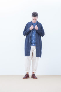 Coat : [ S7_F101C ] FMCT 37,500+tax br; Cardigan : [ S7_F023T ] FOCD 16,000+tax br; Pants : [ S7_F084P ] FBST 22,500+tax br; Shoes : [ S6_F116R ] REGALIA DUDA-M 98,000+tax br;