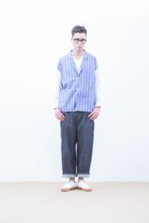 Shirts Jacket : [ S7_F161J ] FJSH 25,500+tax br; Pants : [ S6_F052D ] SWDM-I 22,500+tax br;