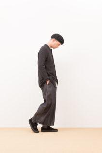 Cardigan : [ A7_F042TD ] FFBCD 16,000+tax br; Shirts : [ A7_F011SF ] FRTSH 17,500+tax br; Wide Denim Pants : [ A7_F052DM ] SWDM-I 22,500+tax br;