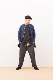 Jacket : [ A7_F111CT ] FNLCD 26,500+tax br; Cardigan : [ A7_F042TD ] FFBCD 16,000+tax br; Shirts : [ A7_F011SF ] FRTSH 17,500+tax br; Wide Denim Pants : [ A7_F052DM ] SWDM-I 22,500+tax br;