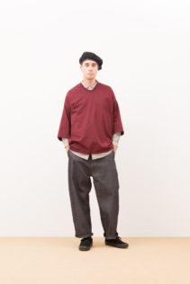 Cut & Sewn : [ A7_F024T7 ] FBGQT 12,000+tax br; Shirts : [ A7_F011SF ] FRTSH 17,500+tax br; Wide Denim Pants : [ A7_F052DM ] SWDM-I 22,500+tax br;