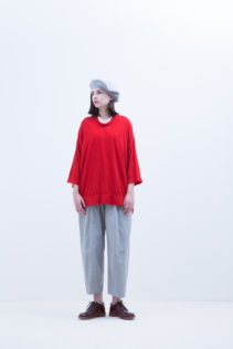 Beret : [ FK_FT022CP ] FBRCP 9,500+tax br; Cut&Sewn : [ S8_FR063T7 ] FSGT7 13,500+tax br; Pants : [ S8_FR204PF ] FFWPT 19,500+tax br; Shoes : [ S6_F111R ] REGALIA DUDA-L 98,000+tax br;