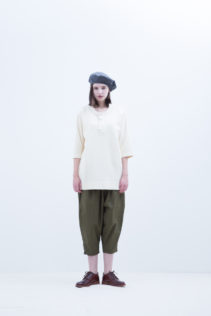 Beret : [ FK-FT022CP ] FBRCP 9,500+tax br; Cut&Sewn : [ S8_FR122T5 ] FUN5T 12,000+tax br; Pants : [ S8_FR193P7 ] FMTSL 18,500+tax br; Shoes : [ S6_F111R ] REGALIA DUDA-L 98,000+tax br;