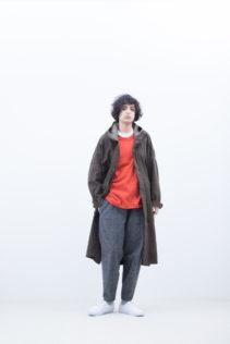Hooded Coat : [ A8_FR202CT ] FMTPK 39,500+tax br; Cut&Sewn : [ A8_FR061TF ] FCNLT 12,500+tax br; Pants : [ A8_FR182PF ] FFSPT 24,000+tax br;