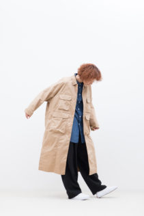 Coat : [S9_FR082CT] FTHCT 35,000+tax br;  Shirt : [S9_FR131SF] FGYSH 20,000+tax br;  Pants : [S9_FR154PF] FDKSL 29,500+tax br;